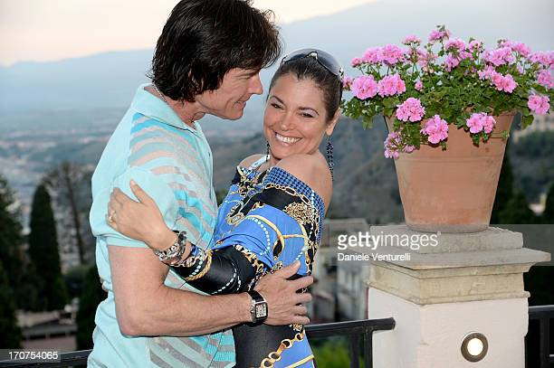 Devin DeVasquez and Ronn Moss attend Taormina Filmfest 2013 on June 17 2013 in Taormina Italy