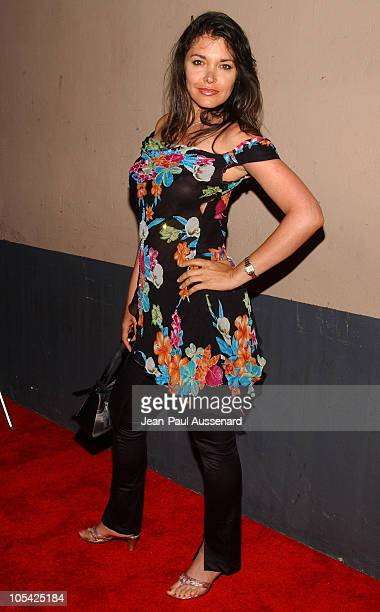 Devin Devasquez during Alana Curry's 25th Birthday Bash Arrivals at Spider Club in Hollywood California United States