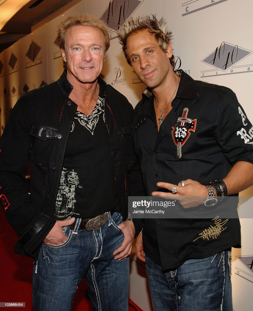 Devin Haman and Jeff Bozz of Hollywood Tan attend The Grand Opening of Jay-Z's 40/40 Club At The Palazzo Hotel Las Vegas December 30, 2007