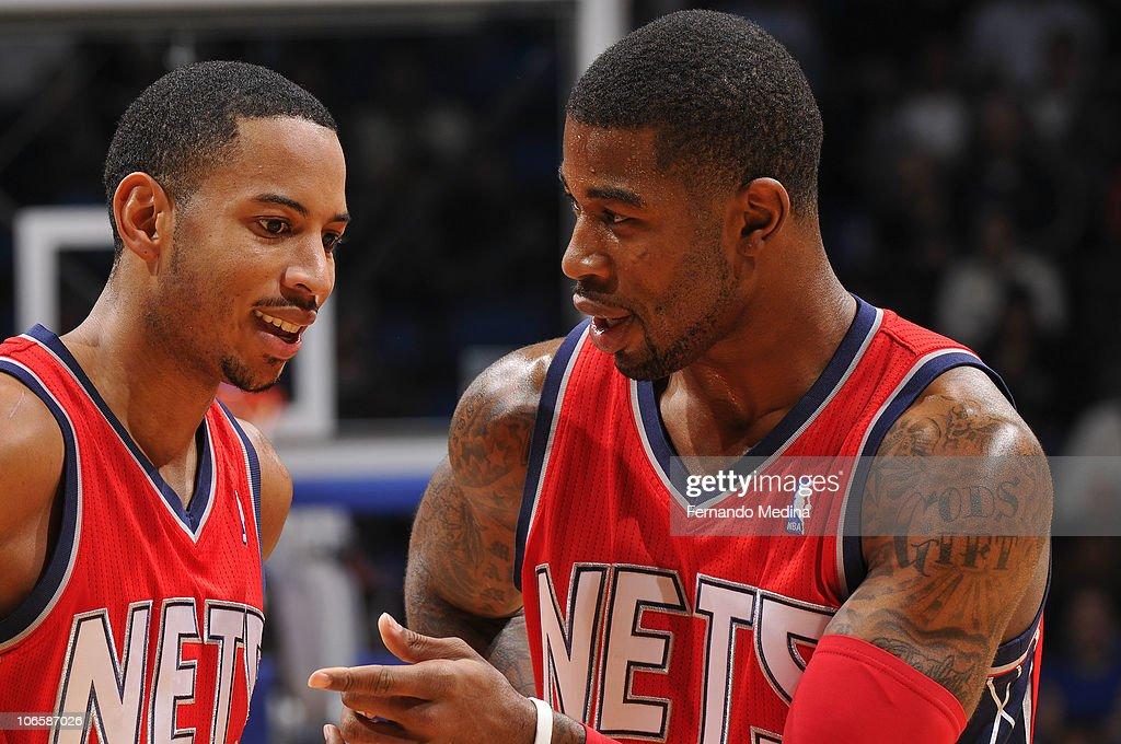 New Jersey Nets v Orlando Magic