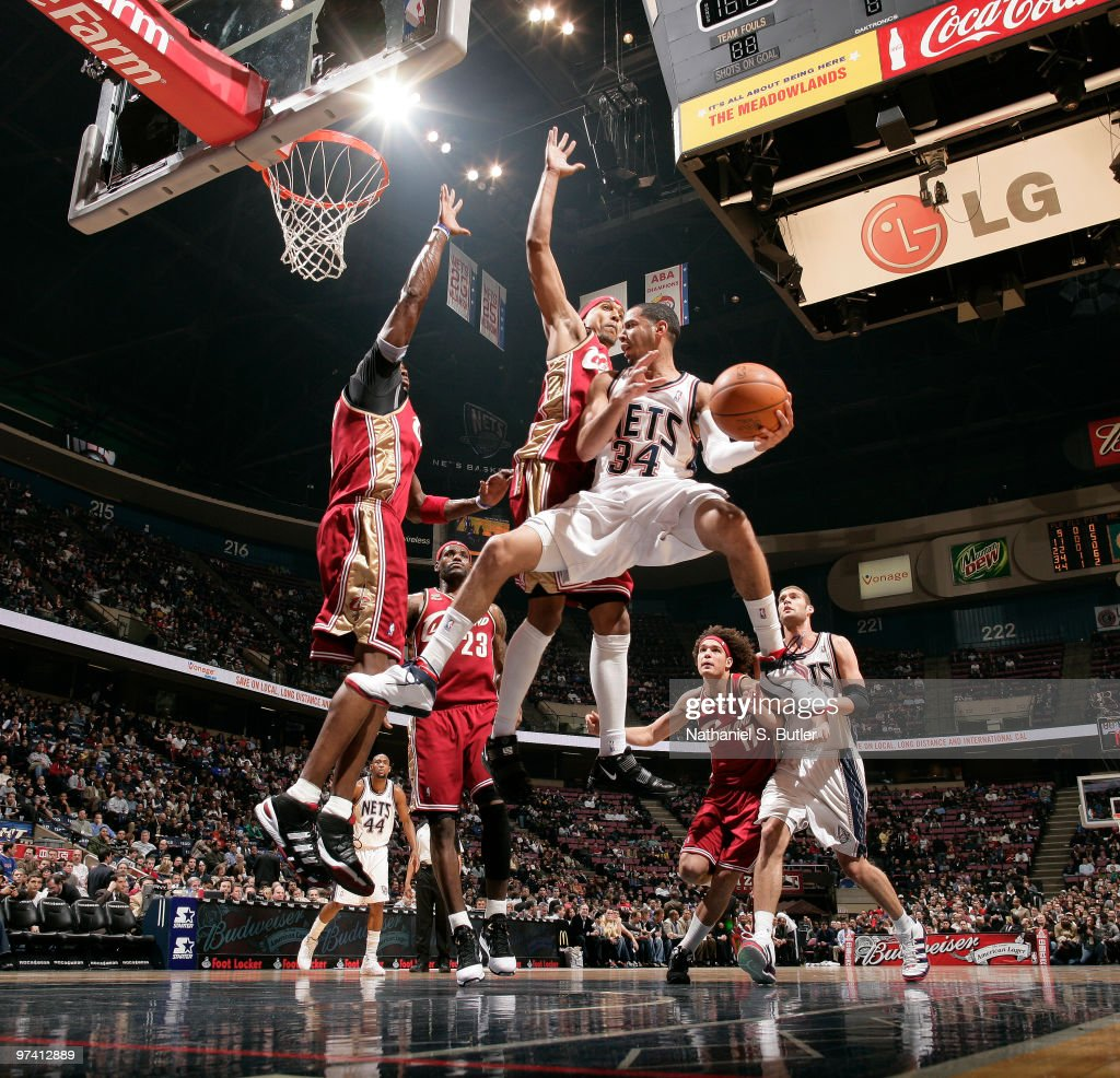 Cleveland Cavaliers v New Jersey Nets