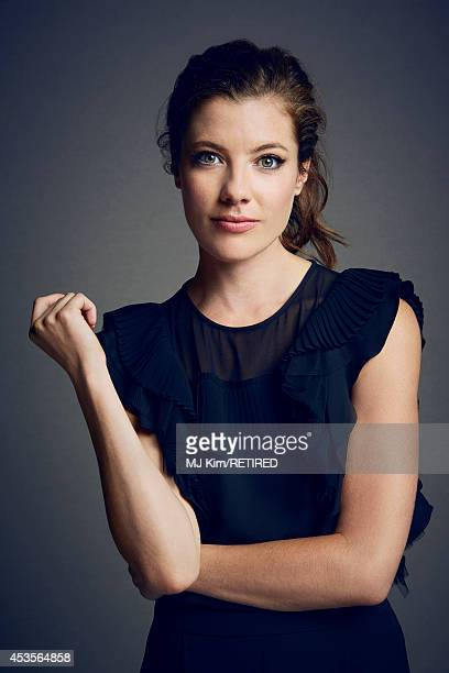 Devin Kelley poses for a portrait at the Getty Images Portrait Studio powered by Samsung Galaxy at ComicCon International 2014 on July 24 2014 in San...