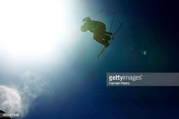Devin Logan of the United States competes in the FIS Freestyle Ski World Cup Slopestyle Qualification during the Winter Games NZ at Cardrona Alpine...