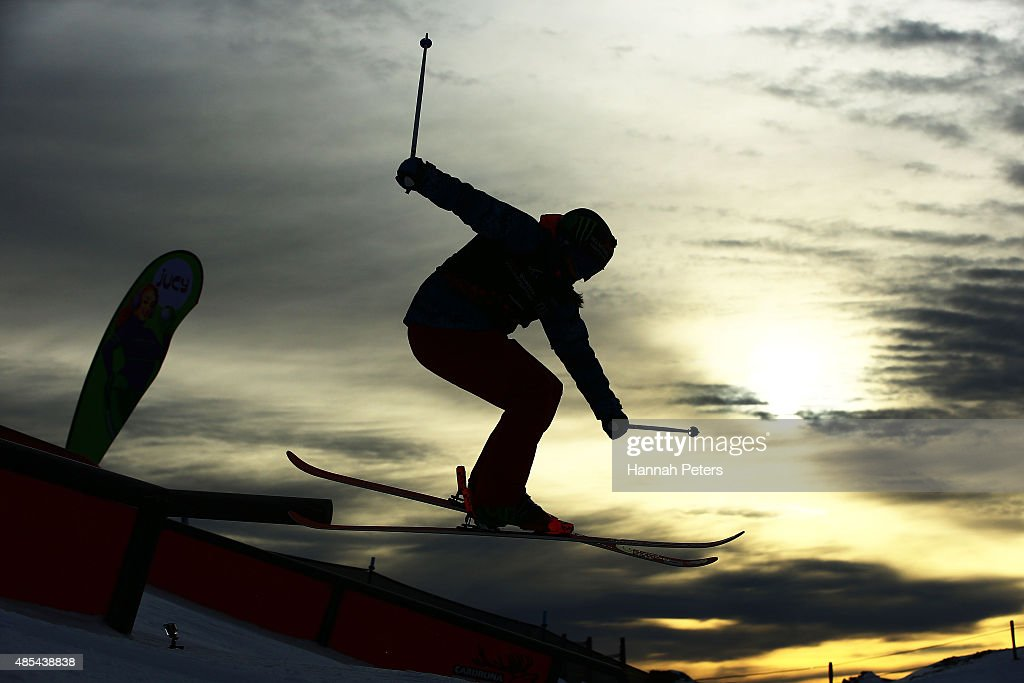 Devin Logan of the United States competes in the FIS Freestyle Ski World Cup Slopestyle Finals during the Winter Games NZ at Cardrona Alpine Resort on August 28, 2015 in Wanaka, New Zealand.