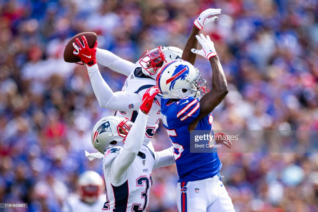New England Patriots v Buffalo Bills : ニュース写真