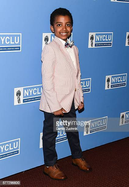 Devin Trey Campbell attends the 2016 Broadway Stands Up For Freedom at NYU Skirball Center on July 18 2016 in New York City