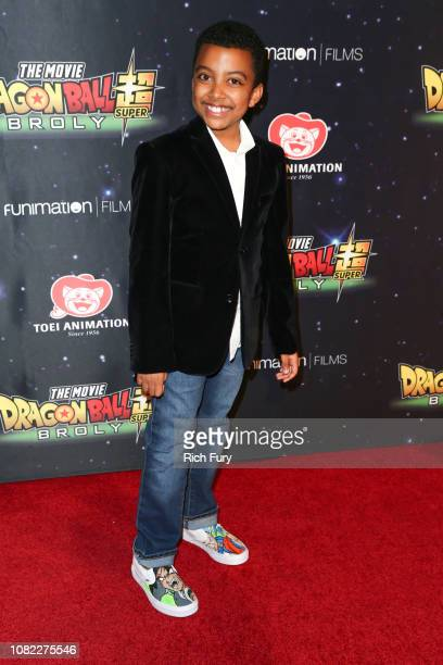 Devin Trey Campbell attends the premiere of 'Dragon Ball Super Broly' at TCL Chinese Theatre on December 13 2018 in Hollywood California