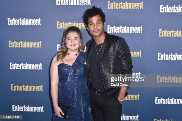 Devin Way and Jaicy Elliot attend the Entertainment Weekly Honors Screen Actors Guild Awards Nominees Presented In Partnership With SAG Awards at...