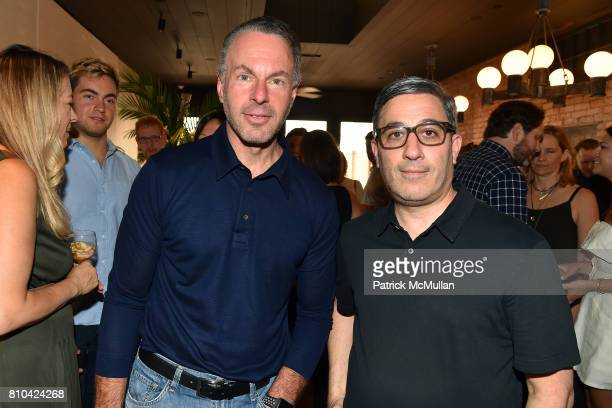 Devin Wenig and Jason Weinberg attend eBay Hosts July 4th Benefit for Sag Harbor Cinema Restoration Project at Lulu Kitchen and Bar on July 3 2017 in...