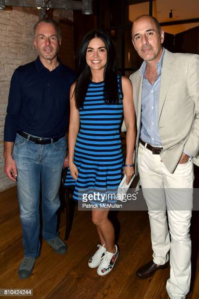 Devin Wenig Katie Lee and Matt Lauer attend eBay Hosts July 4th Benefit for Sag Harbor Cinema Restoration Project at Lulu Kitchen and Bar on July 3...