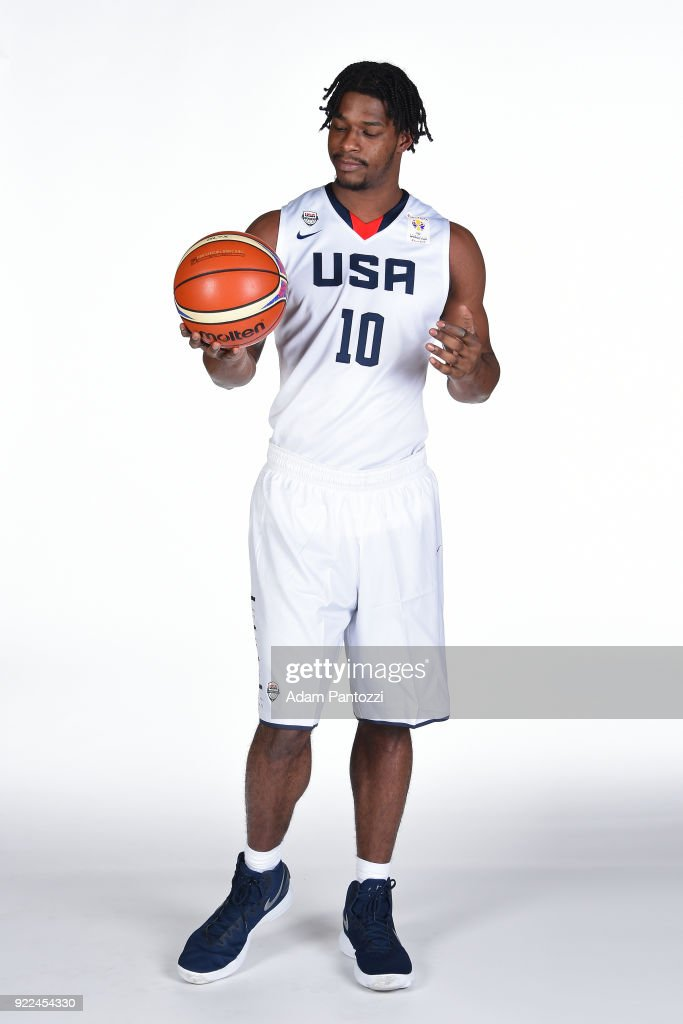 USAB World Cup Qualifying Team Portraits : News Photo