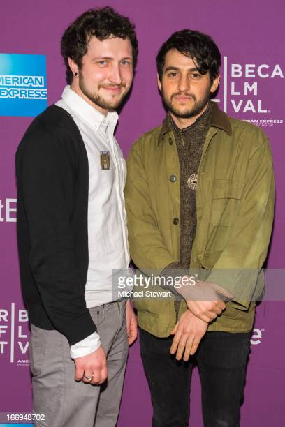 Devin Yuceil and Danilo Parra attend the screening of Lil Bub Friendz during the 2013 Tribeca Film Festival at SVA Theater 1 on April 18 2013 in New...