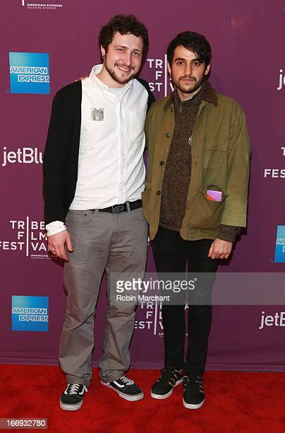 Devin Yuceil and Danilo Parra attends the Lil Bub Friendz world premiere during the 2013 Tribeca Film Festival on April 18 2013 in New York City