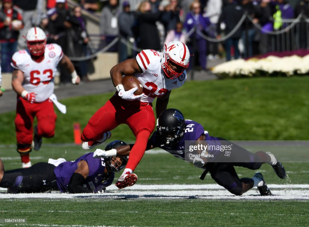 Nebraska v Northwestern : News Photo