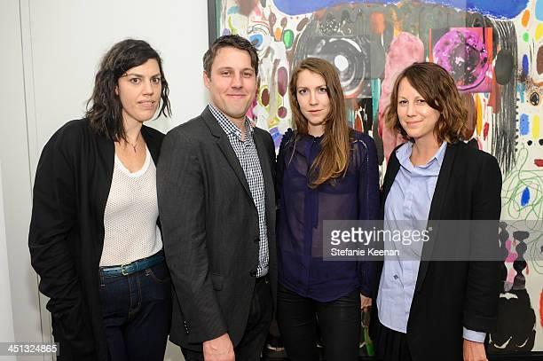 Devita Nemerofs Tim Fleming Meeka Marple and Tif Sigfrids attend The Rema Hort Mann Foundation LA Artist Initiative Benefit Auction on November 21...