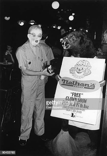 NEW YORK JULY 09 Devo at Nathan's in New York City on July 91977