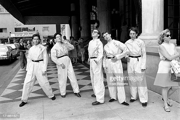 Devo at The Plaza Hotel in New York on July 91977