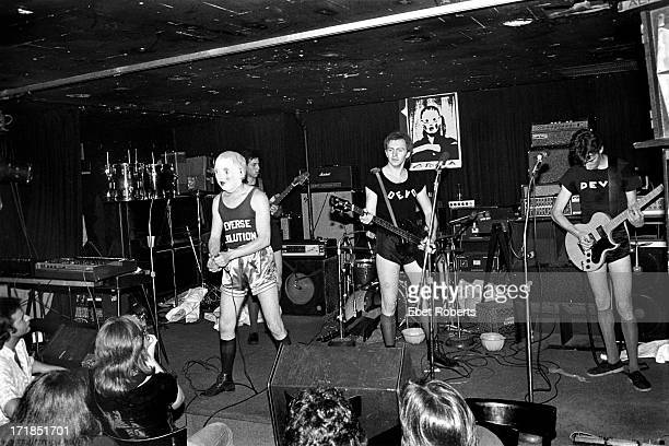 Devo performing at Max's Kansas City in New York on May 251977