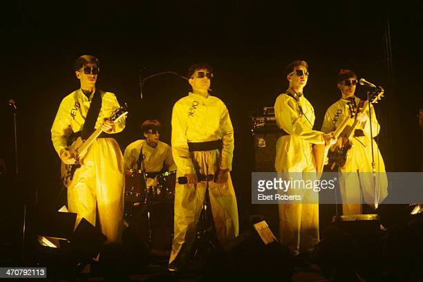 Devo performing at the Bottom Line in New York City on October 18 1978