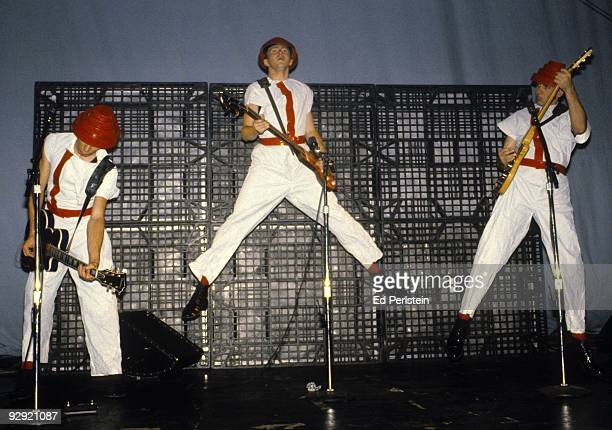 Devo performs at the Phoenix Theater in August 1980 in Petaluma California