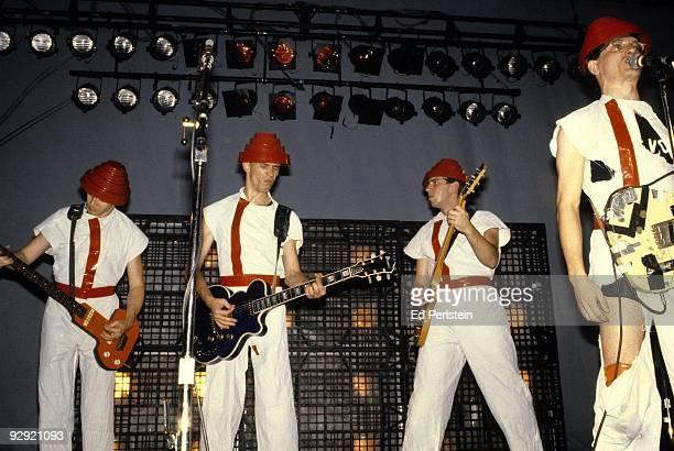 Devo performs at the Phoenix Theater in August 1980 in Petaluma California