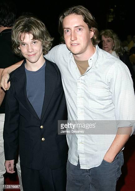 Devon Alan and David Gordon Green director during 2004 Toronto International Film Festival Undertow Premiere at Ryerson Theatre in Toronto Ontario...