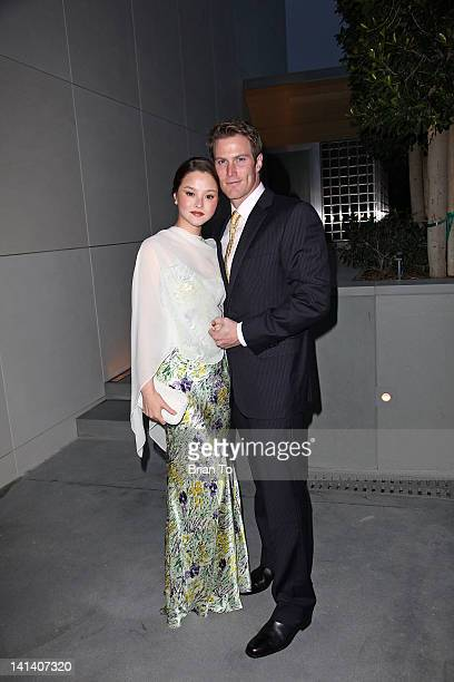 Devon Aoki and husband James Bailey attends UCLA Institute of The Environment and Sustainability presents an evening of environmental excellence on...