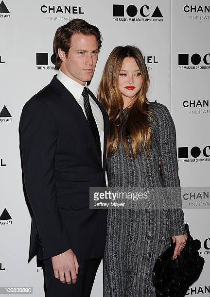 Devon Aoki and James Bailey arrive at MOCA Presents: Envisioned By Artist Doug Aitken at MOCA Grand Avenue on November 13, 2010 in Los Angeles,...