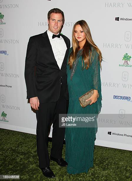 Devon Aoki and James Bailey attend the 1st Annual Baby2Baby Gala Presented By Harry Winston at Book Bindery on November 3 2012 in Culver City...