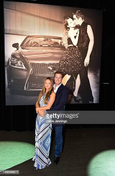 """Devon Aoki and James Bailey attend the Lexus """"Laws of Attraction"""" at Metreon on July 30, 2012 in San Francisco, California."""