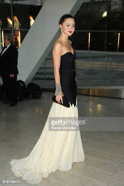 Devon Aoki attends 2010 CFDA Awards Arrivals at Alice Tully Hall on June 7 2010 in New York City