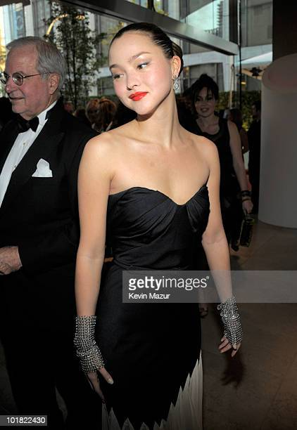 Devon Aoki attends the 2010 CFDA Fashion Awards at Alice Tully Hall Lincoln Center on June 7 2010 in New York City