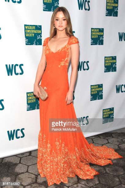 Devon Aoki attends Wildlife Conservation Society Spring 2010 Gala Flight of Fancy at Central Park Zoo on June 10 2010 in New York City