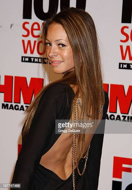 Devon Davis during FHM Magazine Hosts The 100 Sexiest Women in the World Party at Raleigh Studios in Hollywood California United States