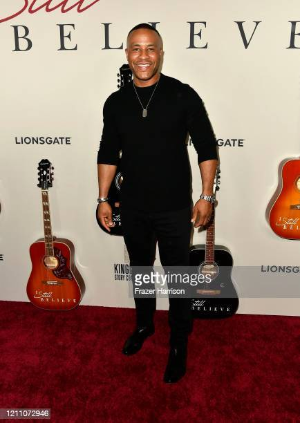 DeVon Franklin attends the premiere of Lionsgate's I Still Believe at ArcLight Hollywood on March 07 2020 in Hollywood California