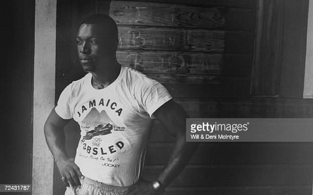 Devon Harris of Jamaican Bobsled team