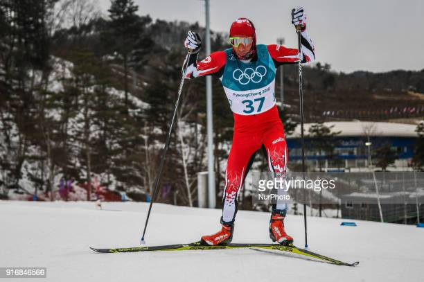 Devon Kershaw of Canada at Men's 15km 15km Skiathlon at olympics at Alpensia cross country stadium Pyeongchang South Korea on February 11 2018 Ulrik...