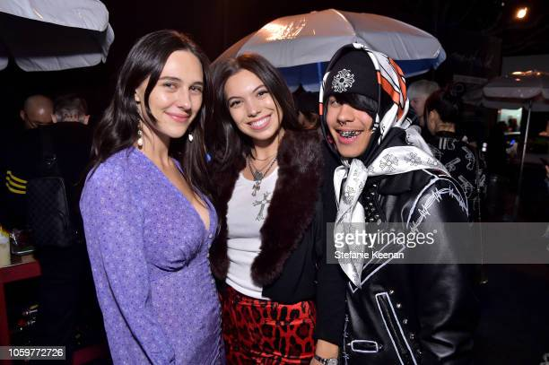 Devon Lee Carlson and guests attend Maxfield Presents Sex Records by Chrome Hearts Artist Matt DiGiacomo at Maxfield on November 9 2018 in Los...