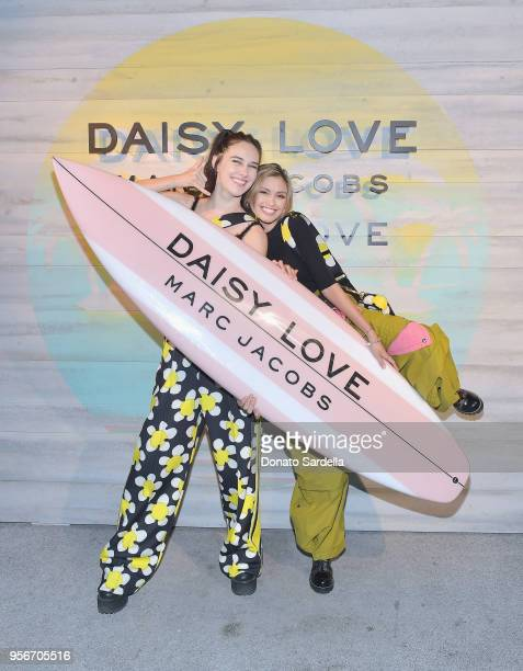 Devon Lee Carlson and Sarah Ellen attend the Marc Jacobs Fragrances Celebrates the Launch of DAISY LOVE on May 9 2018 in Los Angeles California