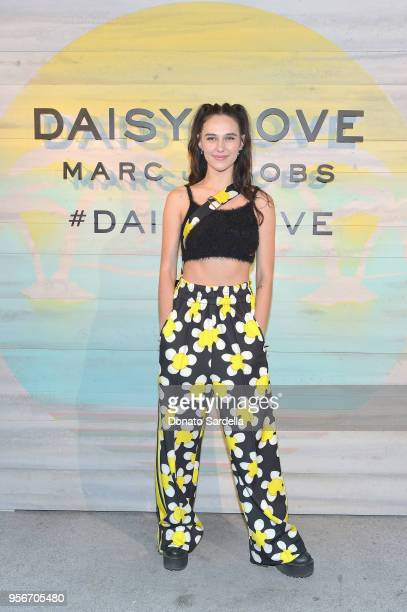 Devon Lee Carlson attends the Marc Jacobs Fragrances Celebrates the Launch of DAISY LOVE on May 9 2018 in Los Angeles California