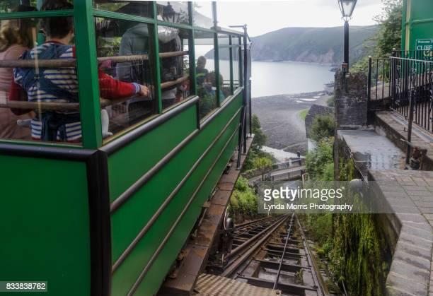 Devon, Lynton & Lynmouth cliff railway.