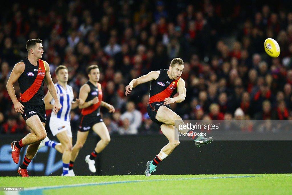 AFL Rd 15 - Essendon v North Melbourne : News Photo