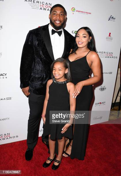 Devon Still Asha Joyce and Leah Still arrives at the American Icon Awards at the Beverly Wilshire Four Seasons Hotel on May 19 2019 in Beverly Hills...