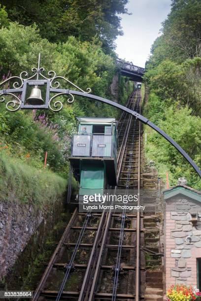 Devon, The Lynton & Lynmouth Cliff Railway