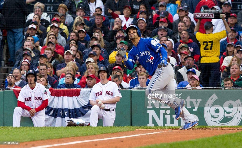 Toronto Blue Jays v Boston Red Sox : Nieuwsfoto's
