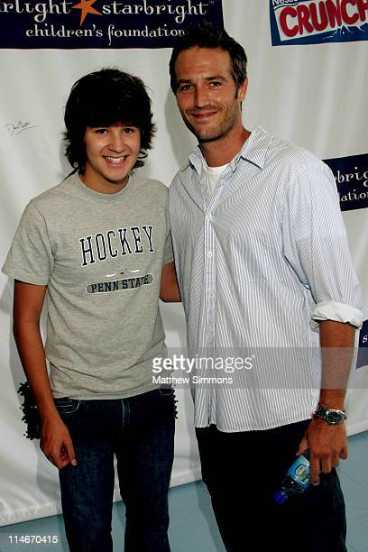 Devon Werkheiser and Michael Vartan during 'Stars with Sticks' Annual Celebrity Hockey Classic at Toyota Sports Center in El Segundo California...