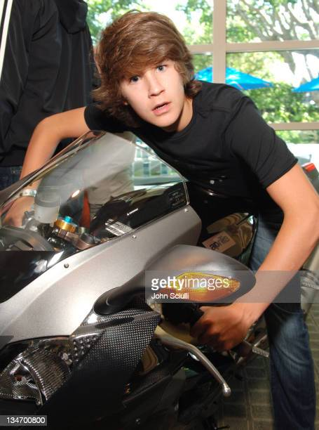 Devon Werkheiser at Vespa during Melanie Segal's Platinum Luxury Gifting Suite in Celebration of the 58th Annual Emmys and the 2006 MTV VMAs Day 1 at...