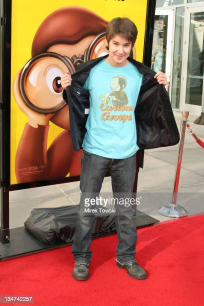 Devon Werkheiser during 'Curious George' Los Angeles Premiere Arrivals at Arclight Hollywood Cinemas in Hollywood California United States