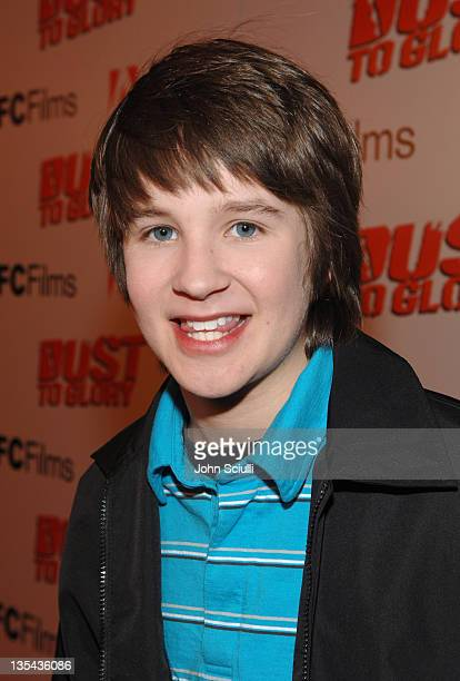 Devon Werkheiser during 'Dust to Glory' Los Angeles Premiere Red Carpet at Arclight Theatre in Hollywood California United States