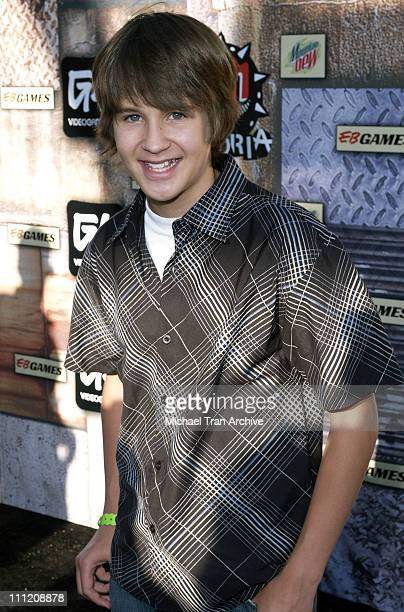 Devon Werkheiser during GPhoria 2005 The Mother of All Videogame Award Shows Arrivals at Los Angeles Center Studios in Los Angeles California United...